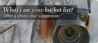 Make a photo tour suggestion