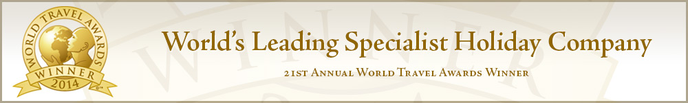 World's Leading Specialist Holiday Company - 21st Annual World Travel Awards Winner