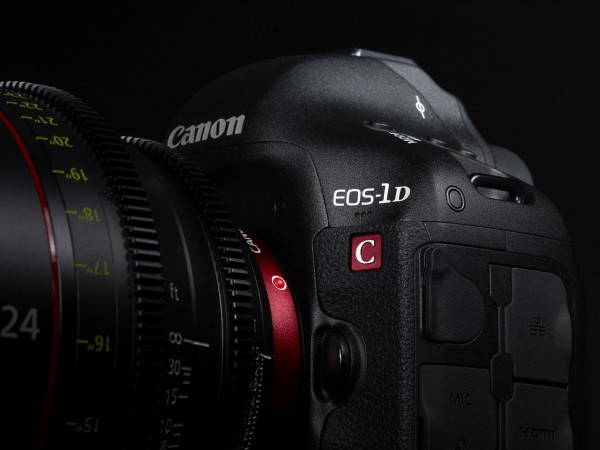 EOS 1D Ctop 600x450 Canon Announces 4K Ready Video/Still Camera, The EOS 1D C