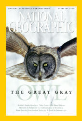 Cover of 2005 February National Geographic
