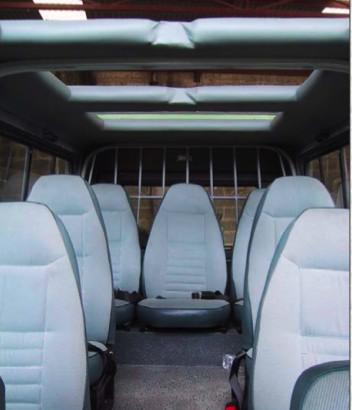 Kenya Safari Vehicle Seating