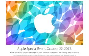 Click on the image above to be taken to the official Apple web site for live streaming of the Apple event.