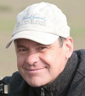 Daniel Cox in Masa Mara Game Reserve Kenya.