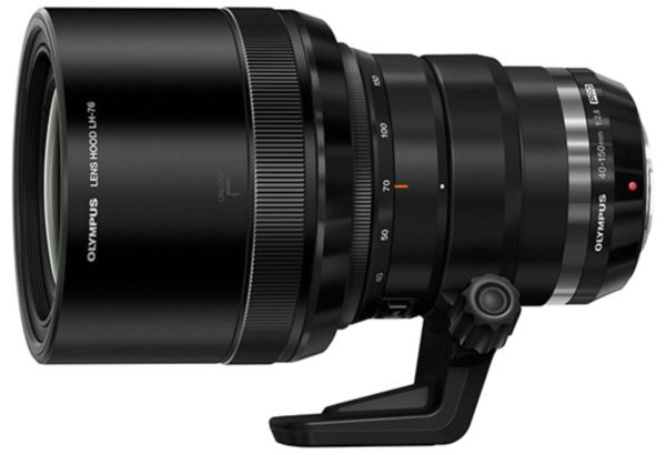 The new, recently released Olympus Zuiko 40-150mm F/2.8 zoom