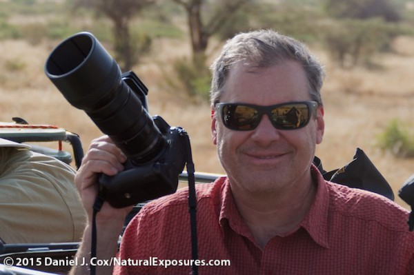 Daniel Cox holding the Lumix GH4 with the new Olympus 40-150mm F/2.8 lens. Photo by Tanya Cox. Lumix FZ1000