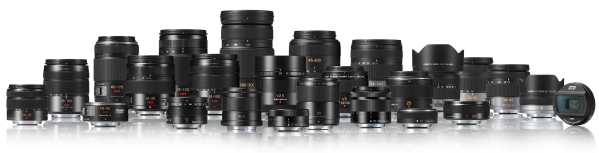 The entire line of Panasonic  Lumix lenses.