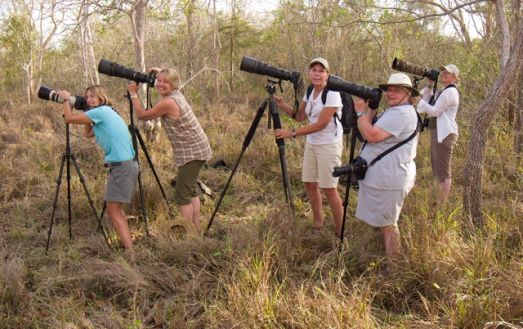 Explorers Andrea, Joanne, Jeannne, Lynne and Christine shooting in the Pantanal of Brazil. these are just a small part of the many millions of outdoor enthusiasts who spent $646 Billion dollars last year on outdoor recreation that includes wildlife and nature photography.