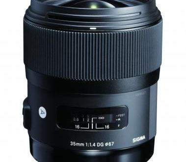 This is a sample of the Sigma 35mm F/1.4 Art Series of lenses. I've seen this lens and the quality of the optics is first rate as well as the fit and finish.