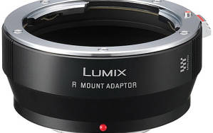 The Leica to Lumix lens adapter for Leica R series lenses.