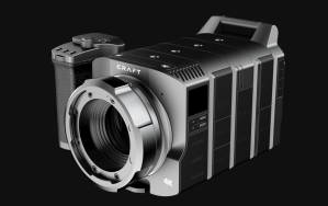 A modular camera with a Micro Four Thirds lens mount.