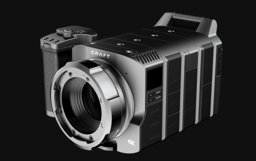 A modular camera with a Micro Four Thirds lens mount.